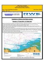 Offshore Sub Station Jacket Installation - RWE.com