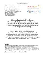 Gesundheitsnetz Psychose.pdf - Integrierte Versorgung - Psychenet