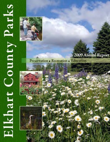 2009 Annual Report - Elkhart County Parks