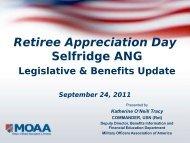 Legislative Benifits - Selfridge MWR