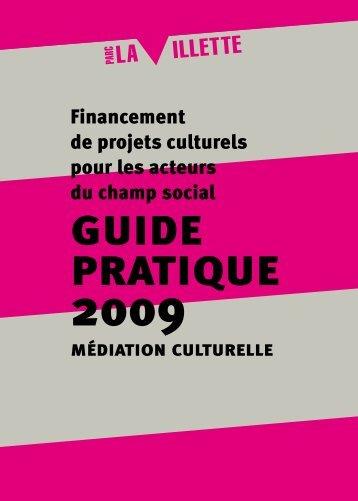 17/ 16/ guide pratique 2009 - Parc de la Villette