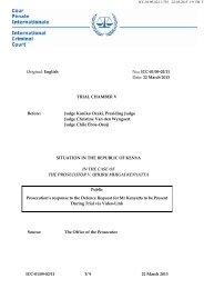 ICC-01/09-02/11 1/ 9 22 March 2013 F Original: English No.: ICC-01 ...