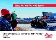 Ušivatelská příručka k TC(R)403/405/407/410 - Gefos