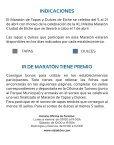 Folleto Maratón de Tapas y Dulces 2013 - Page 2