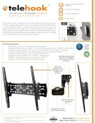 Slim wall mount | Tilt Adjustable TH-3060-UT