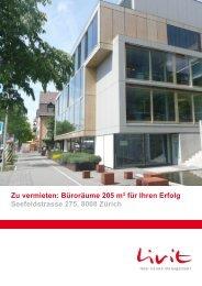 Büroräume 205 m² für Ihren Erfolg Seefeldstrasse ... - Homegate.ch