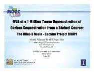 Illinois Basin – Decatur Project, USA - Southeast Regional Carbon ...