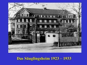 Die Geschichte der Kinderklinik in Bildern - Klinik für Kinder- und ...