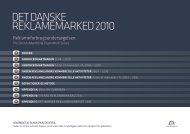 DET DANSKE REKLAMEMARKED 2010 - Bibliotek