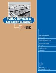 Public Services & Facilities Element - City of Las Vegas