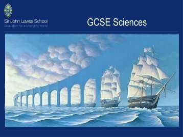 GCSE Sciences