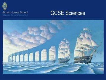 GCSE Sciences