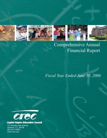 2006 - Capitol Region Education Council