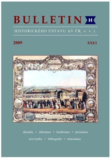 pdf, 13 MB - Historický ústav AV ČR - Akademie věd ČR