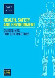 Contractor guidelines - Port of Tyne