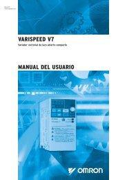 VARISPEED V7 MANUAL DEL USUARIO - Carol industrial