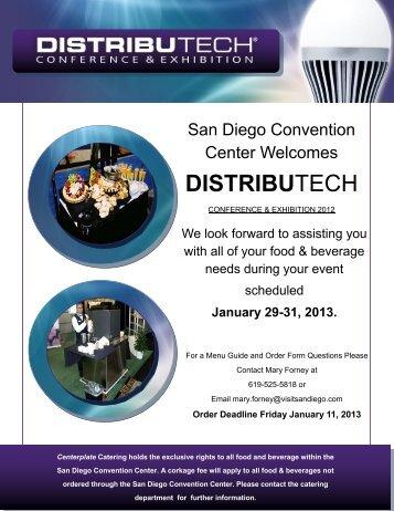san diego convention center - DistribuTECH
