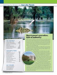 Sportsman's paradise, hub of industry - Baton Rouge Area Chamber