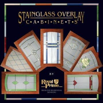 Art Glass for Kitchen Cabinets (pdf) - Royal Prime, Inc.