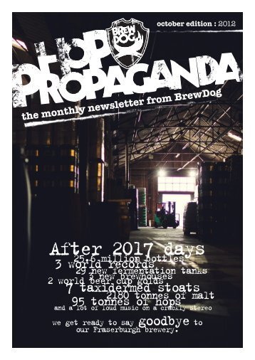 After 2017 days - BrewDog