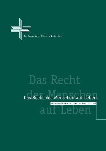 Das Recht des Menschen auf Leben - Auflage 2000.cdr