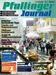 Ausgabe Juli 2012 - beim Pfullinger Journal