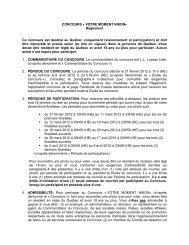 CONCOURS « VOTRE MOMENT NIKON» Règlement Ce ... - Lozeau