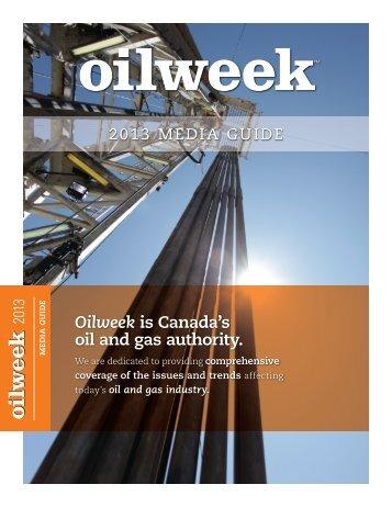 2013_Oilweek_Media Guide.pdf - JuneWarren-Nickle's Energy Group