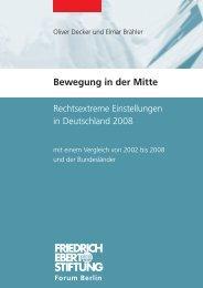 Bewegung in der MItte - Bibliothek der Friedrich-Ebert-Stiftung