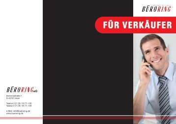 "Büroring Leistungsbroschüre ""Für Verkäufer"" - BMC-Marketing"
