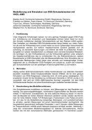 Modellierung und Simulation von ESD ... - TU Dortmund