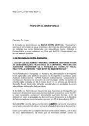 Capa Proposta Administração 2012 - mahle