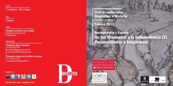 Díptico - Fundación Banco Santander