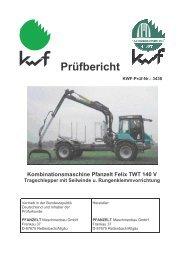 Felix TWT 140 - Pfanzelt Maschinenbau