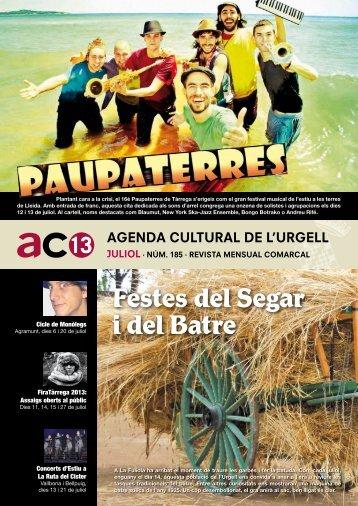 Més informació - Ajuntament de Tàrrega