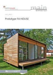 Prototype FA HOUSE - Holcim