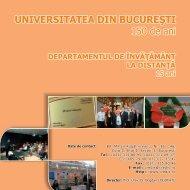 Departamentul de Învăţământ Deschis la Distanţă (CREDIS) - CIOCP