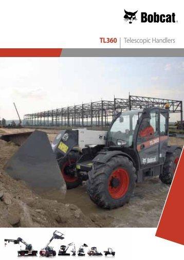 TL360 | Telescopic Handlers - Bobcat.eu
