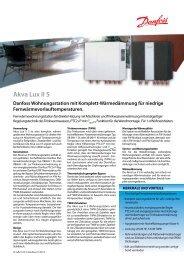 Akva Lux II S - Danfoss GmbH