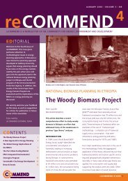 The Woody Biomass Project - COMMEND: Community for Energy ...