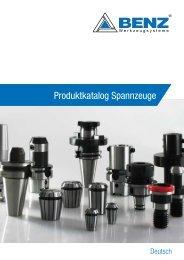 Produktkatalog Spannzeuge - MS Spinex