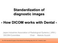 Standardization of diagnostic images - How DICOM works with ...