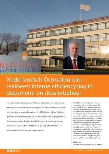Nominatie - Nederlandsch Octrooibureau