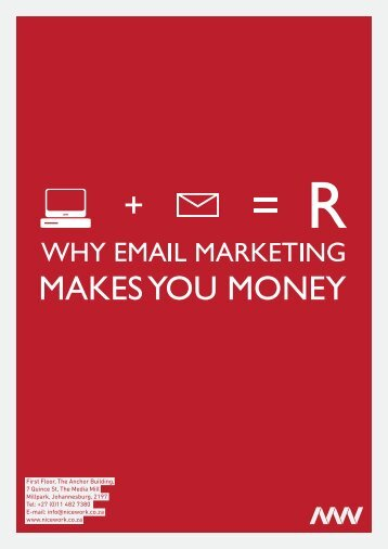 Why email marketing makes you money - Nicework