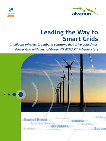 Alvarion's Smart Grid Solution - Winncom Technologies