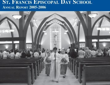 annual report PDF.indd - St. Francis Episcopal Day School