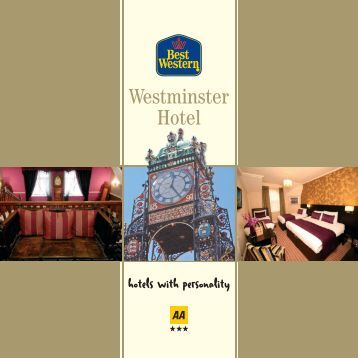 Westminster brochure - Feathers Hotel Group - UK.COM