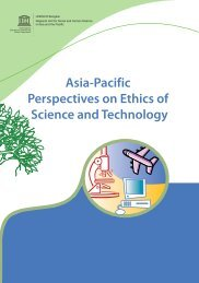 Asia-Pacific Perspectives on Ethics of Science and Technology