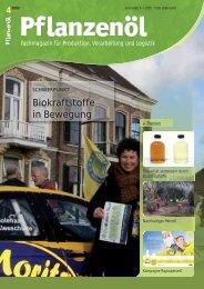 Ölpresse NF 500 - Pflanzenöl Fachmagazin: Willkommen