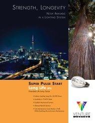 Super Pulse Start Long Life (SPL) Extended Life ... - Venture Lighting